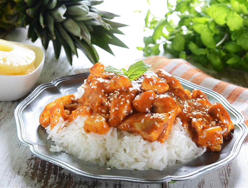 Pollo oriental Richly
