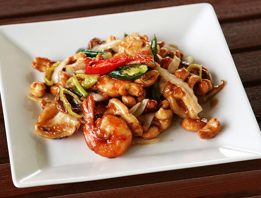 Camarones en Salsa China Richly