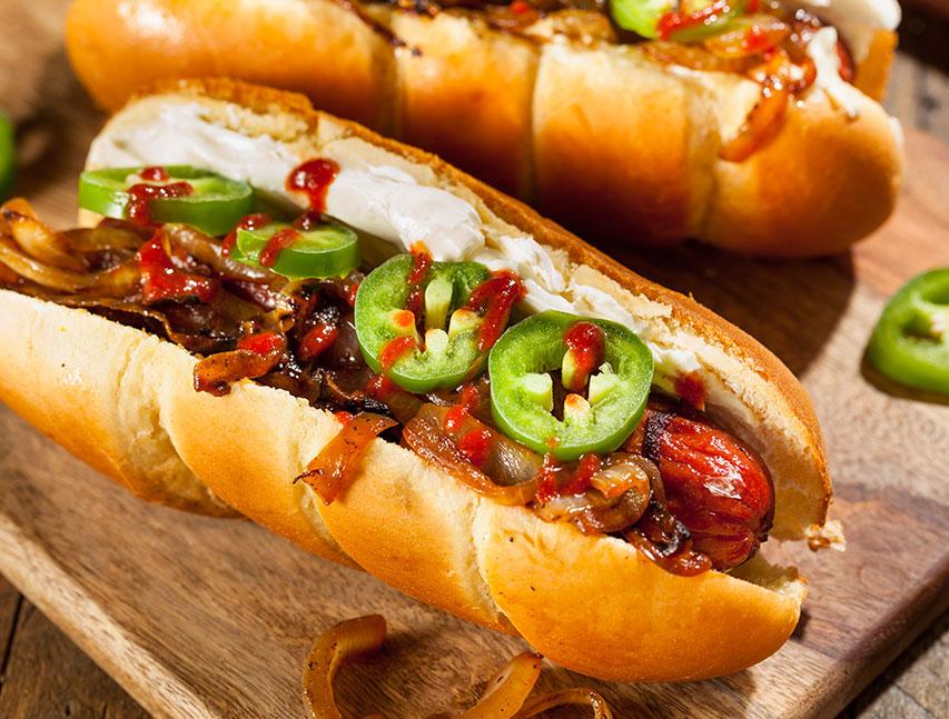Hot dog especial Richly